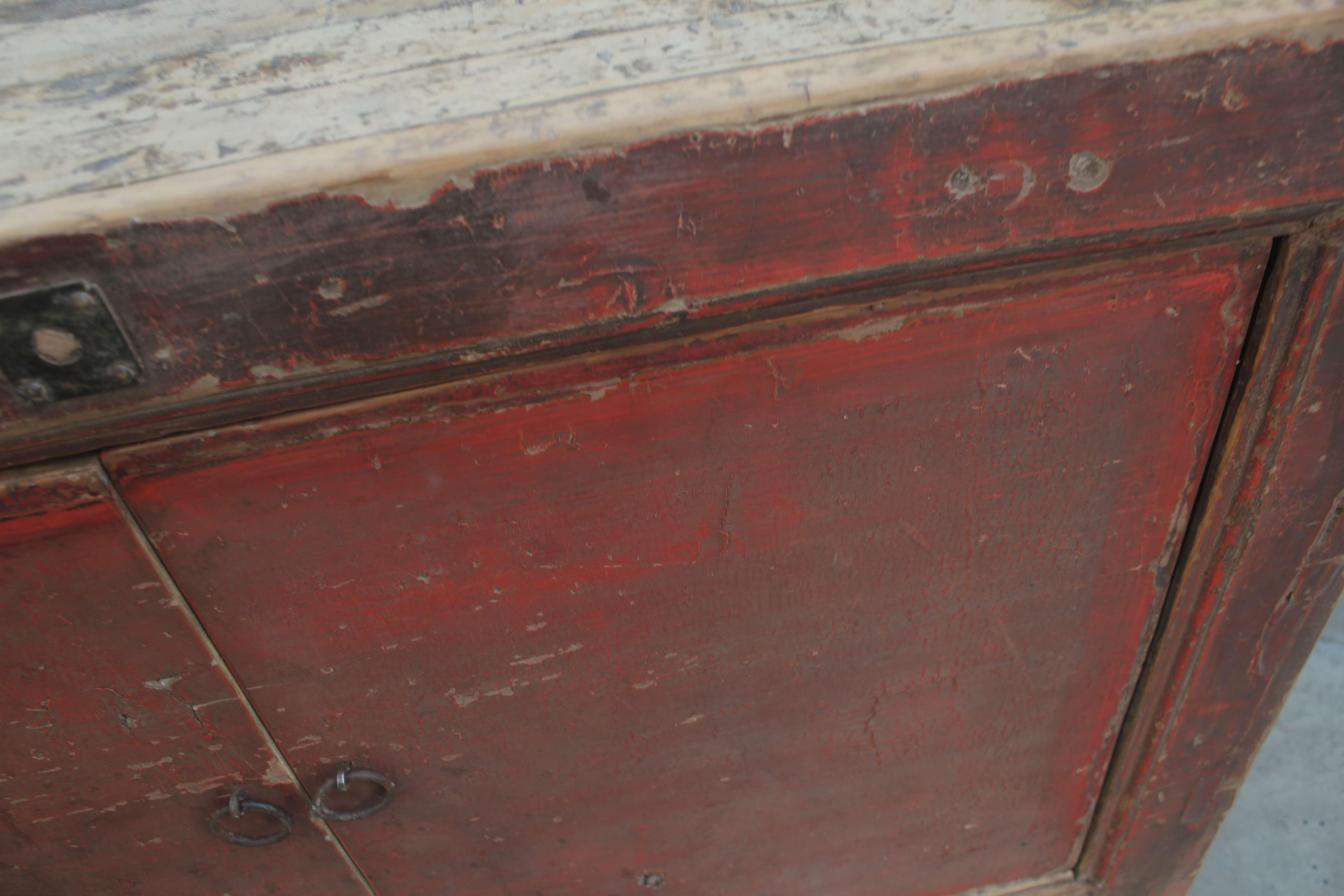 Koop Dressoir 4 deuren rood