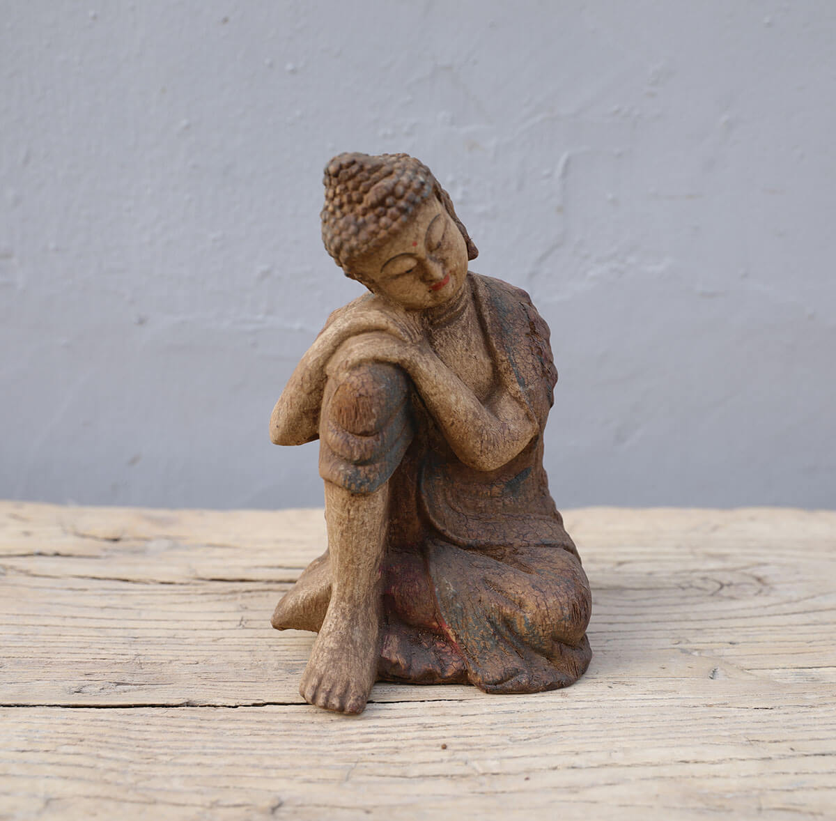 Koop Boeddha beeld hout