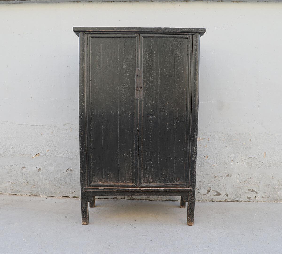 Koop Kabinetkast zwart 2 deuren en 3 lades