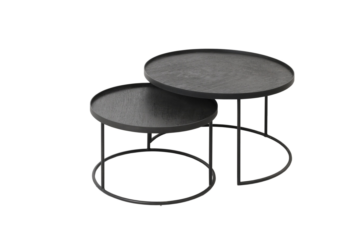 Koop Round Tray Tableset S/L by Ethnicraft